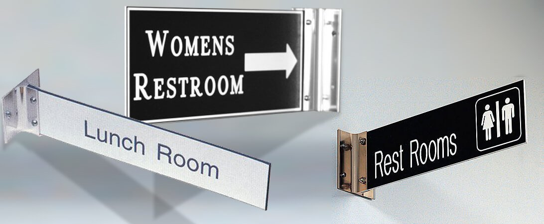 Custom Interior Signs Lobby Foam Metal Lobby Signs
