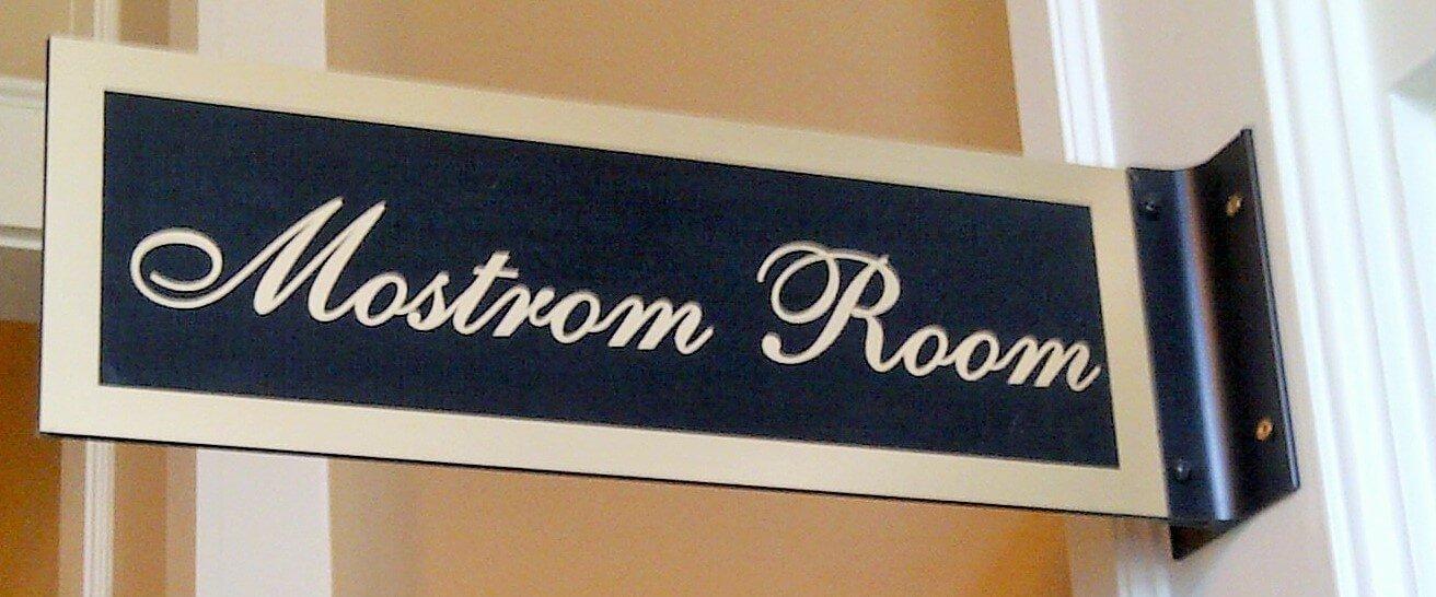 Custom Interior Signs Lobby Foam Metal Lobby Signs