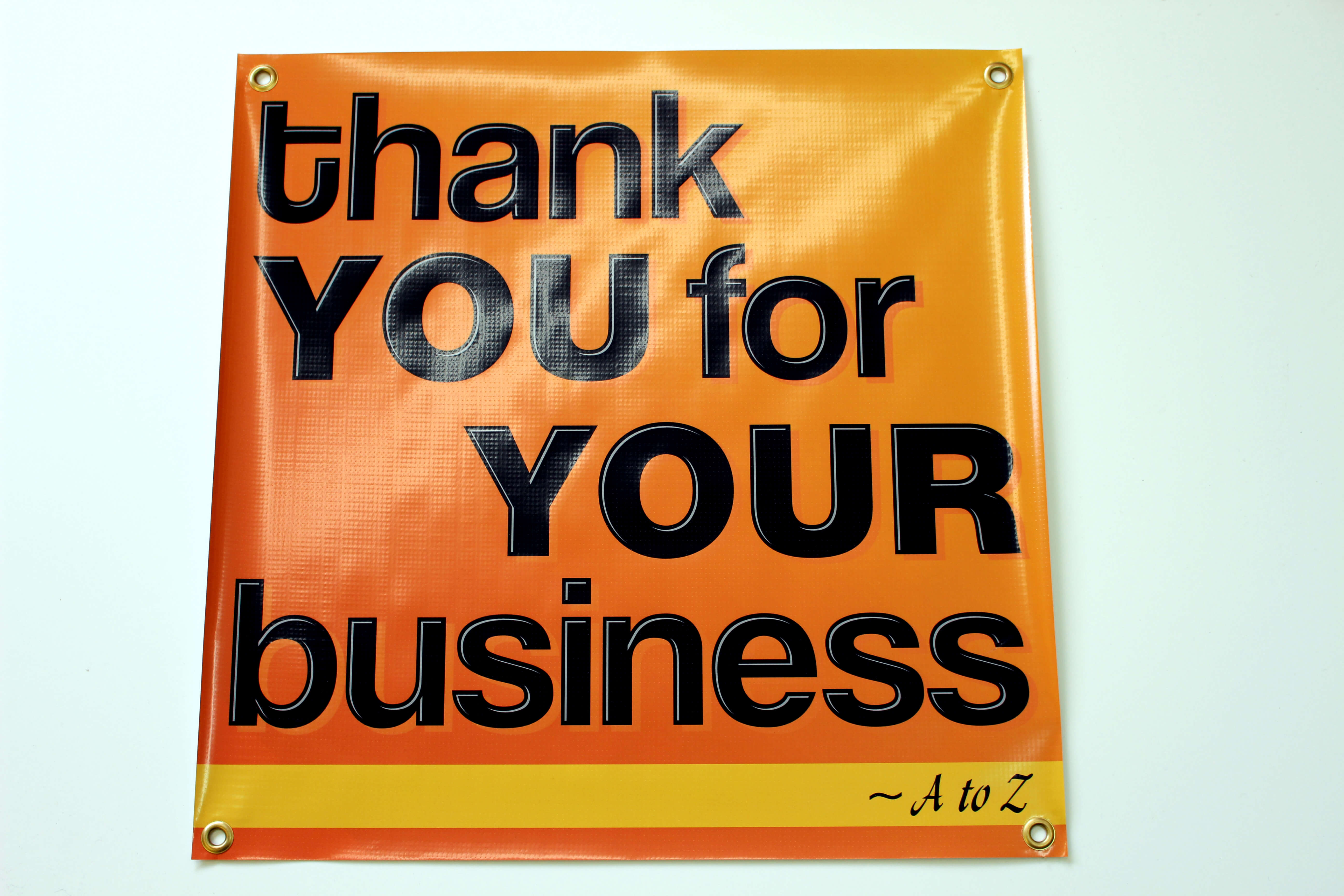 Vinyl Banners Provided By Signs Amp Engraving