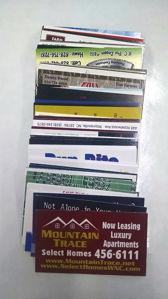 Custom Business Cards - Signs And Engraving
