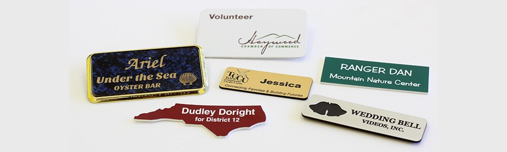 Custom Name Badges