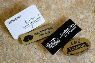Custom Name Badges: Name Tags, Name Plates
