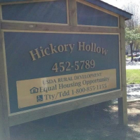 Channel Letters | Hickory Hollow Apartments Waynesville NC