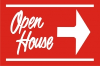 12x18 Open House Yard Signs