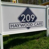 Haywood Cafe   Commercial Signage