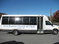 Clyde Baptist | Vehicle Lettering