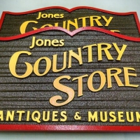 Sandblasted Exterior Signs | Jones Country Store