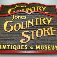 Sandblasted Exterior Signs   Jones Country Store
