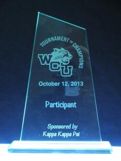 Glass Award | Western Carolina University