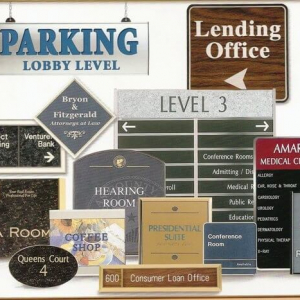 Way Finding Signs