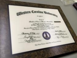 Laminated Diplomas, Plaques