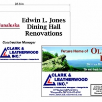 Construction Signs | Clarke and Leatherwood