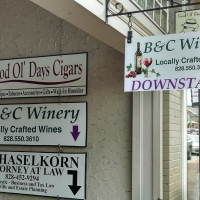 Storefront Signs | Main Street Waynesville NC