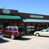 Storefront Signs  Blue Ridge Books  Waynesville NC