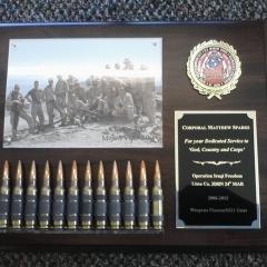 Custom Plaque | Marines