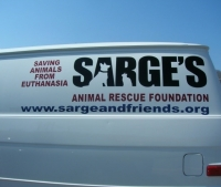 Custom vinyl Lettering | Sarge's Animal Rescue Foundation
