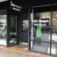 window lettering   Ellie May Resale