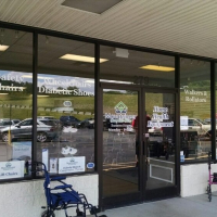 Window Lettering |Window Lettering | Mountaineer Complete Care Waynesville NC
