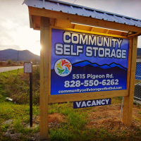 Signage for Storage - 5515 Pigeon Road Waynesville, NC